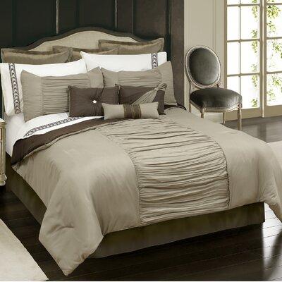 Stokes 7 Piece Comforter Set Size: Queen
