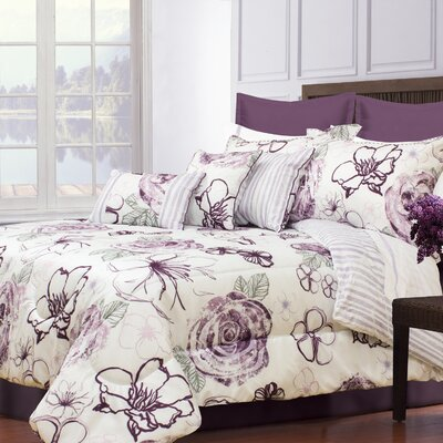 Bernard 7 Piece Comforter Set Size: Queen