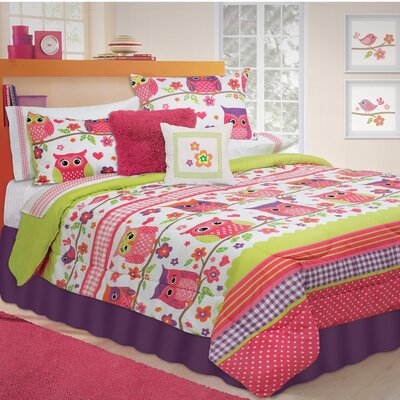 Kobart Comforter Set Size: Double/Queen