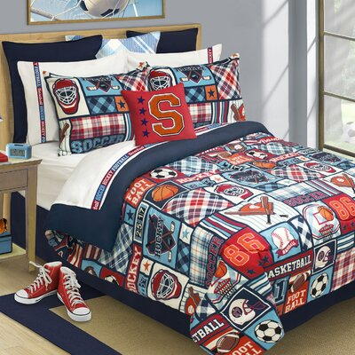 Reversible Comforter Set Size: Double/Queen