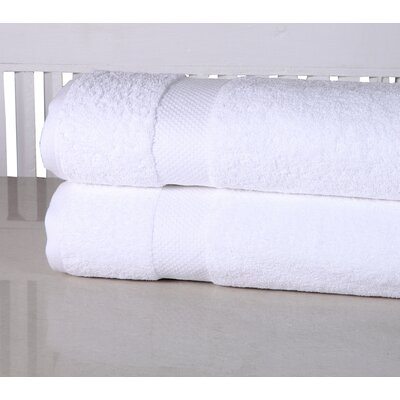 Luxurious Spa Bath Sheet Color: White