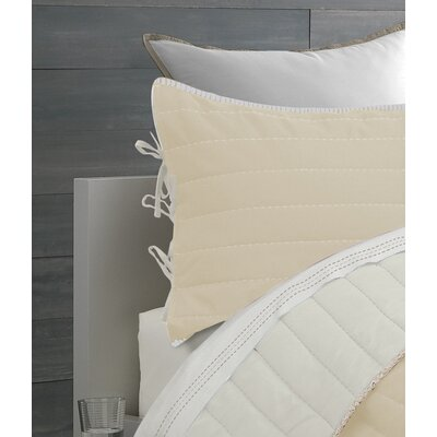 Jennie Reversible Quilt Set Color: Gray, Size: Twin