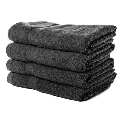 Luxurious Bath Towel Color: Black
