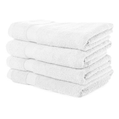 Luxurious Bath Towel Color: White