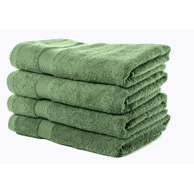 Luxurious Bath Towel Color: Army Green