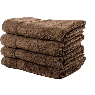 Luxurious Bath Towel Color: Espresso