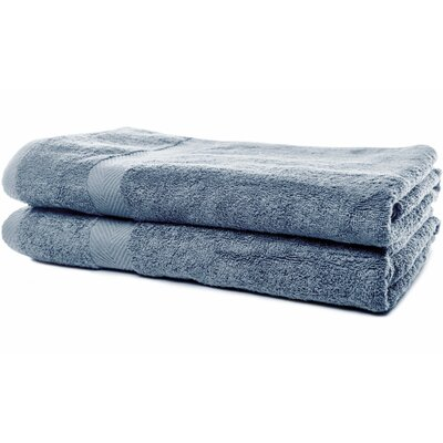 Luxurious Bath Sheet Color: Durango Blue