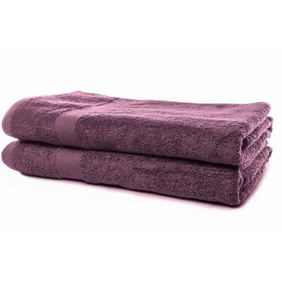 Luxurious Bath Sheet Color: Purple