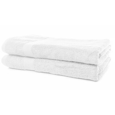 Luxurious Bath Sheet Color: White