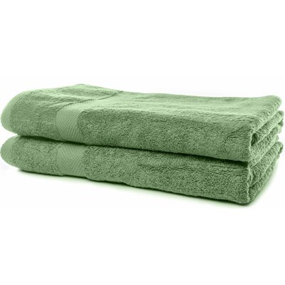 Luxurious Bath Sheet Color: Army Green