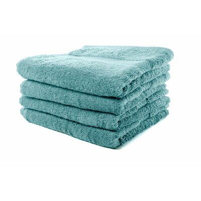 Luxurious Hand Towel Color: Aqua