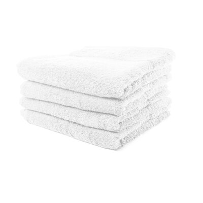 Luxurious Hand Towel Color: Optic White