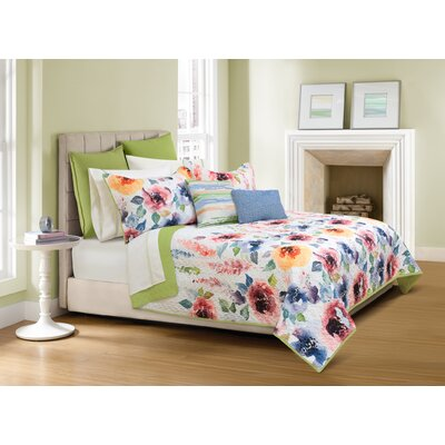 Haywood 3 Piece Quilt Set Size: King