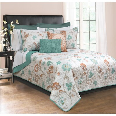 Hillcrest 3 Piece Full/Queen Coverlet Set