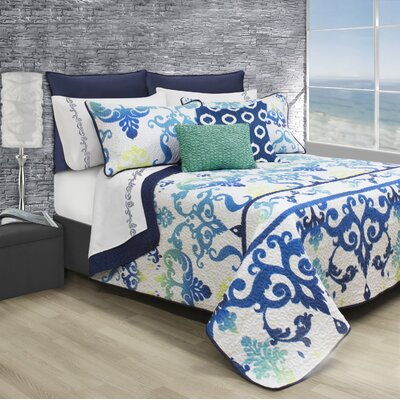 Sparks 3 Piece Full/Queen Coverlet Set