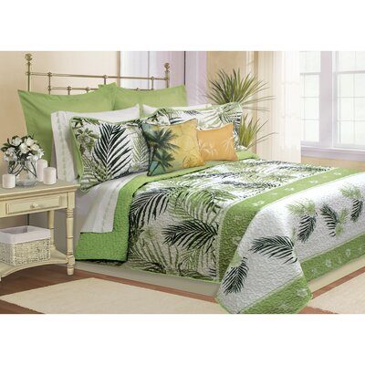 Ofelia 4 Piece Quilt Set Size: King