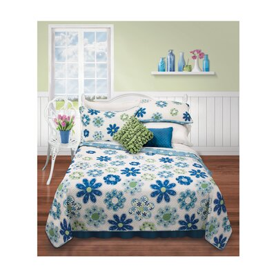 Finigan 2 Piece Quilt Set Size: Twin