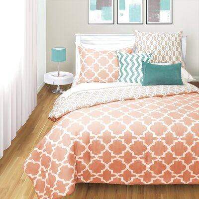 Roslyn 2 Piece Comforter Set Size: Full/Double