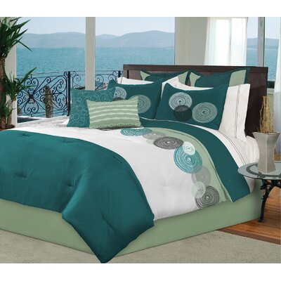 Maplewood 8 Piece Comforter Set Size: Full/Double