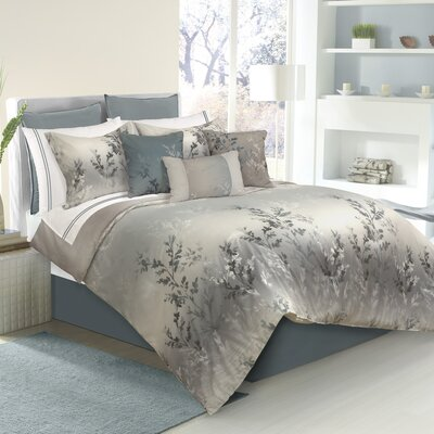 Trembley 100% Polyester Comforter Set Size: Queen