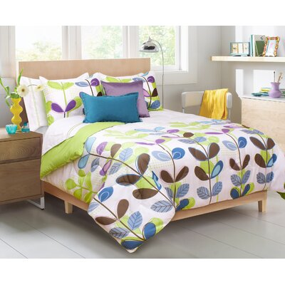 Rosemarie 2 Piece Comforter Set Size: King