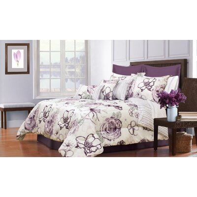 Hobart 5 Piece Comforter Set Size: Twin