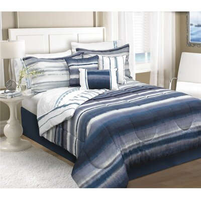Sevine 5 Piece Comforter Set Size: King