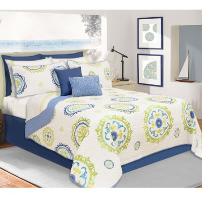 Maire Printed Quilt Set Size: Full/Queen