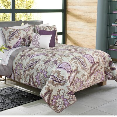 Makayla 3 Piece Quilt Set Size: Full/Queen