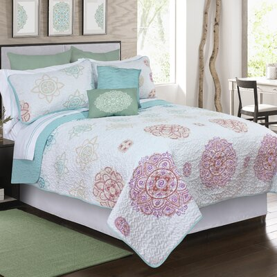 Miller 3 Piece Quilt Set Size: Full/Queen