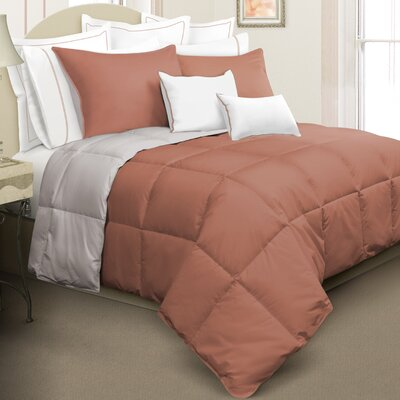 Kavanaugh 2 Piece Comforter Set Size: King, Color: Orange