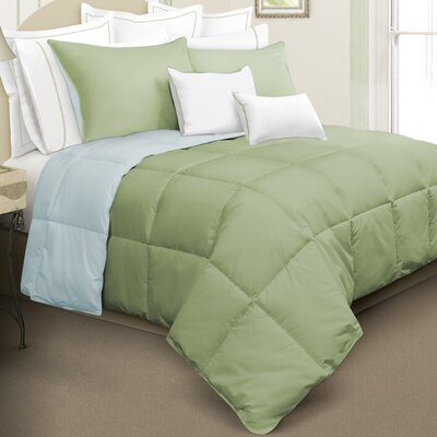 Kavanaugh 2 Piece Comforter Set Color: Green, Size: King