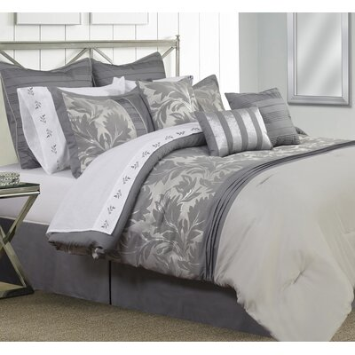 Dame 7 Piece Comforter Set Size: Full/Double