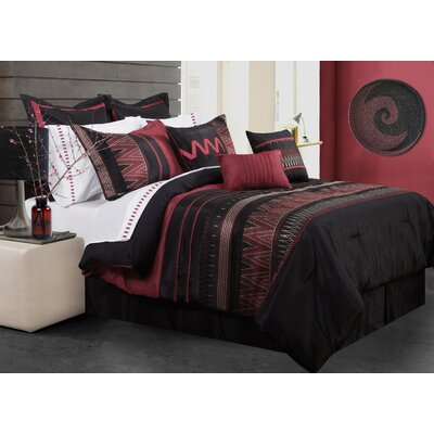 Alberts 7 Piece Comforter Set Size: Full/Double
