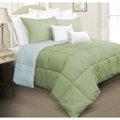 Kavanaugh 3 Piece Full/Queen Reversible Comforter Set Color: Green/Blue