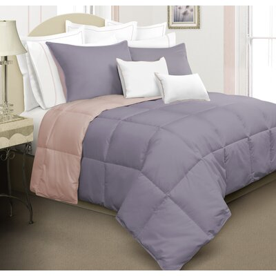 Kavanaugh 3 Piece Full/Queen Reversible Comforter Set Color: Rose/Mauve