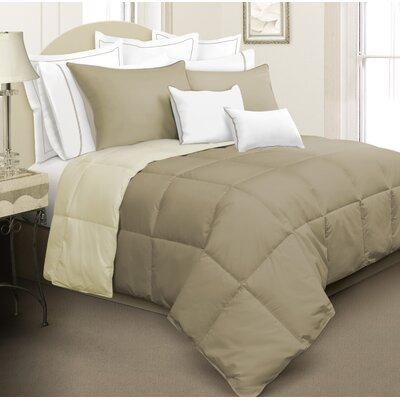 Kavanaugh 3 Piece Full/Queen Reversible Comforter Set Color: Beige/Ivory