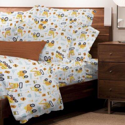 Mario 3 Piece Microfiber Sheet Set