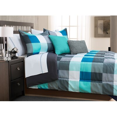 Hera 3 Piece Full/Queen Comforter Set