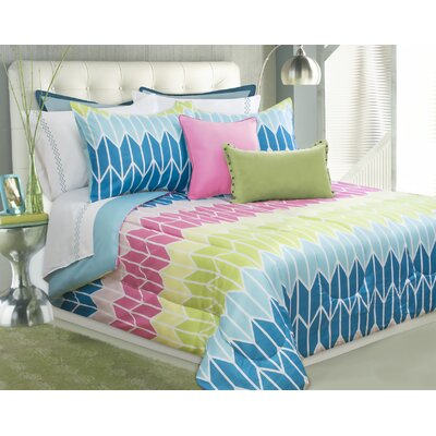 Edgewater 3 Piece Full/Queen Comforter Set