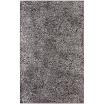 Sandra-Lee Hand-Woven Wool/Cotton Gray Area Rug Rug Size: Rectangle 8 x 10