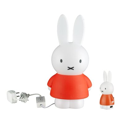 Miffy Bundle Dimmable Night Light Color: Orange