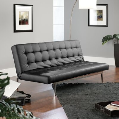 413506 SAU2186 Sauder Avenue Convertible Sofa in Black