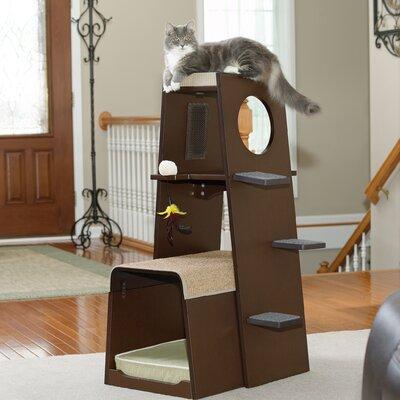 Hennessy 43 Modular Modern Cat Tree