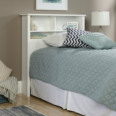 Rossford Traditional Twin Bookcase Headboard Finish: White