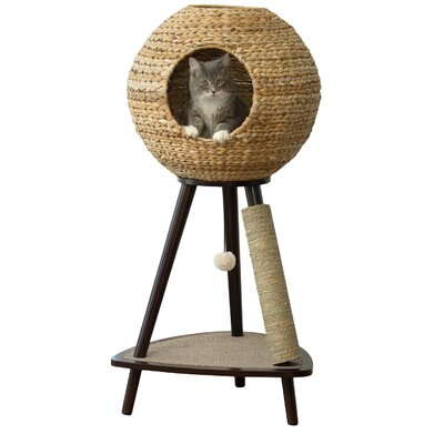 "Archie & Oscar Adriana 44"" Sphere Scratch Post Cat Tree"