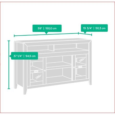 Pemberton Entertainment Credenza TV Stand
