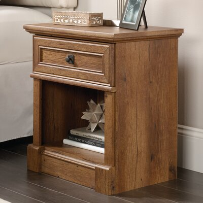Sagers 1 Drawer Nightstand