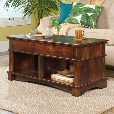 Pinellas Lift Top Coffee Table Color: Curado Cherry