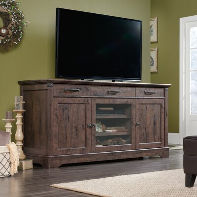 Chappel Credenza 72.17 TV Stand Color: Coffee Oak